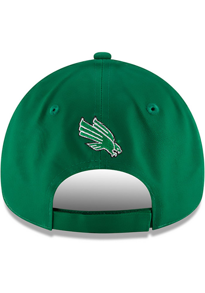 New Era North Texas Mean Green The League 9FORTY Adjustable Hat - Green - Image 5