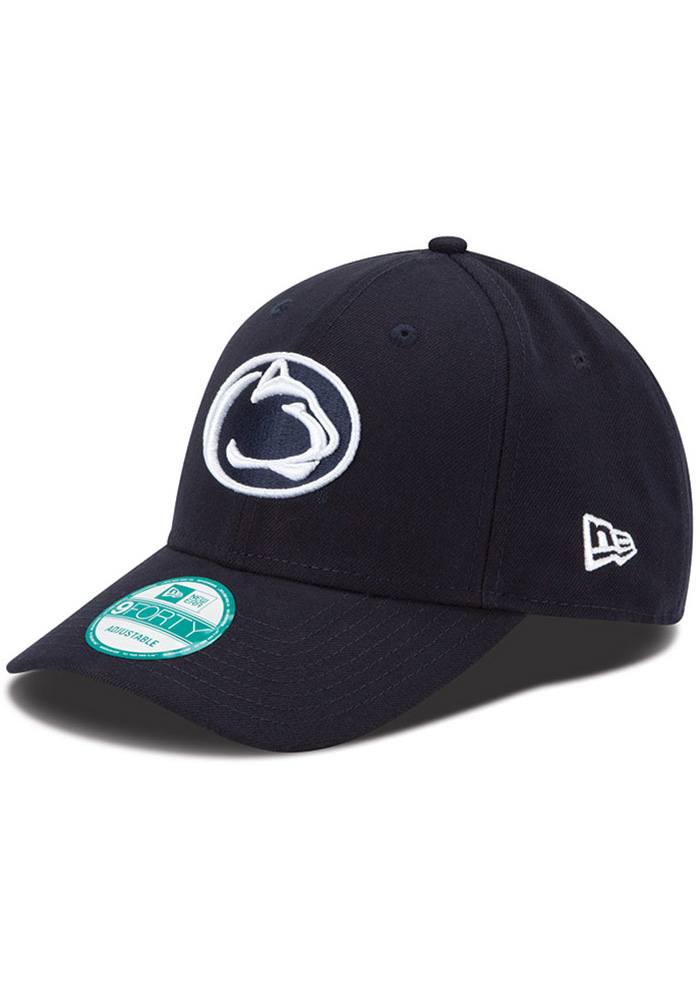 New Era Penn State Nittany Lions The League 9FORTY Adjustable Hat - Navy Blue - Image 1