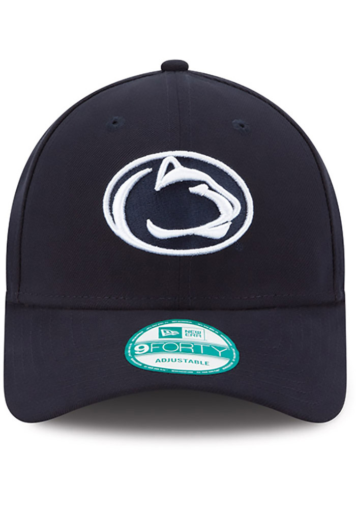 New Era Penn State Nittany Lions The League 9FORTY Adjustable Hat - Navy Blue - Image 2