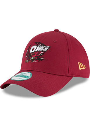 New Era Temple Owls Mens Cardinal The League 9FORTY Adjustable Hat