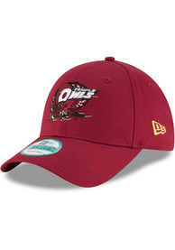Temple Owls New Era The League 9FORTY Adjustable Hat - Cardinal