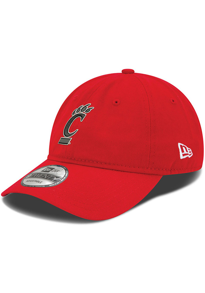 New Era Cincinnati Bearcats 9TWENTY Adjustable Hat - Red - Image 1