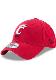 Cincinnati Bearcats New Era Core Classic 9TWENTY Adjustable Hat - Red