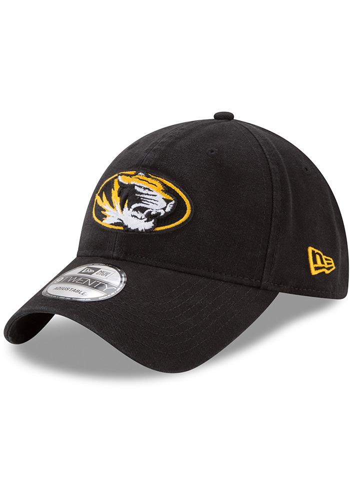 New Era Missouri Tigers Black Core Classic 9TWENTY Adjustable Hat c03a00ee5773