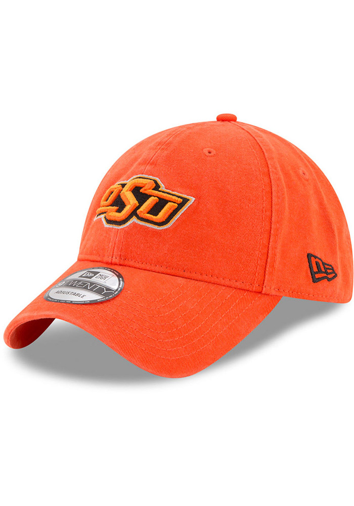 New Era Oklahoma State Cowboys Mens Orange Core Classic 9TWENTY Adjustable Hat - Image 1