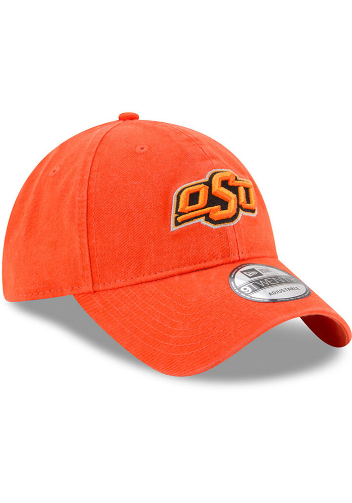 New Era Oklahoma State Cowboys Mens Orange Core Classic 9TWENTY Adjustable Hat - Image 2
