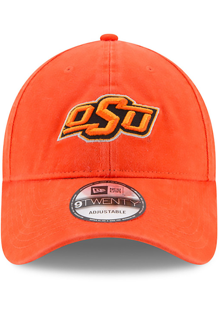 New Era Oklahoma State Cowboys Mens Orange Core Classic 9TWENTY Adjustable Hat - Image 3