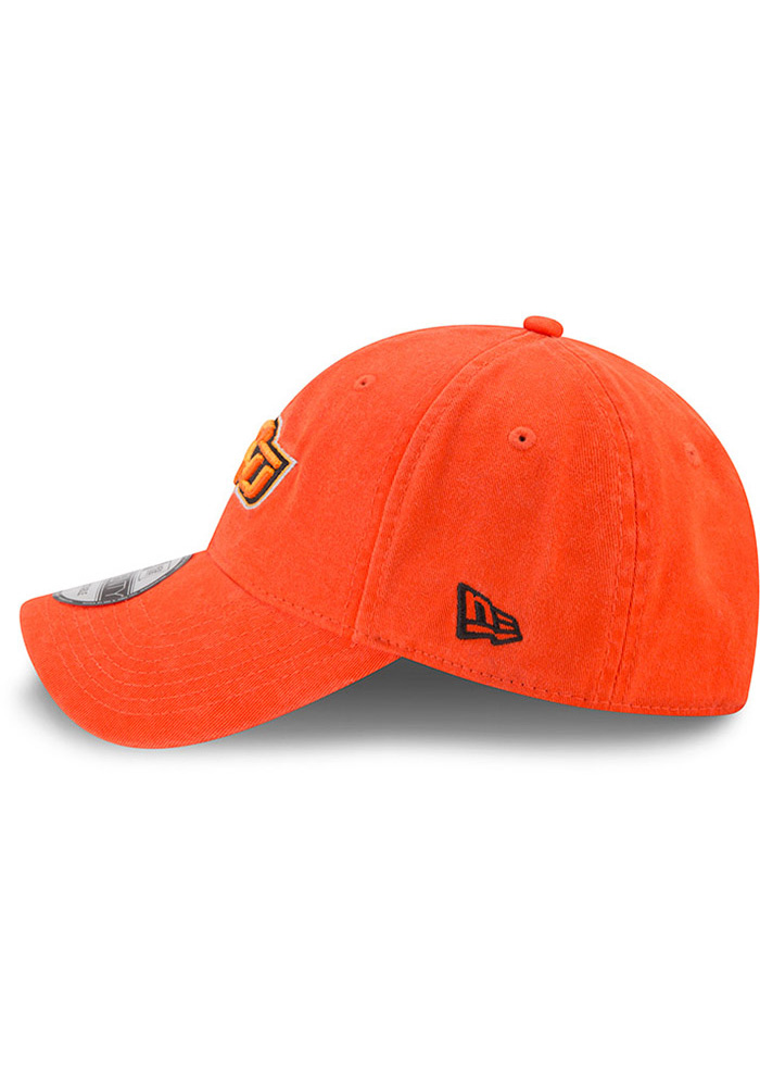 New Era Oklahoma State Cowboys Mens Orange Core Classic 9TWENTY Adjustable Hat - Image 4