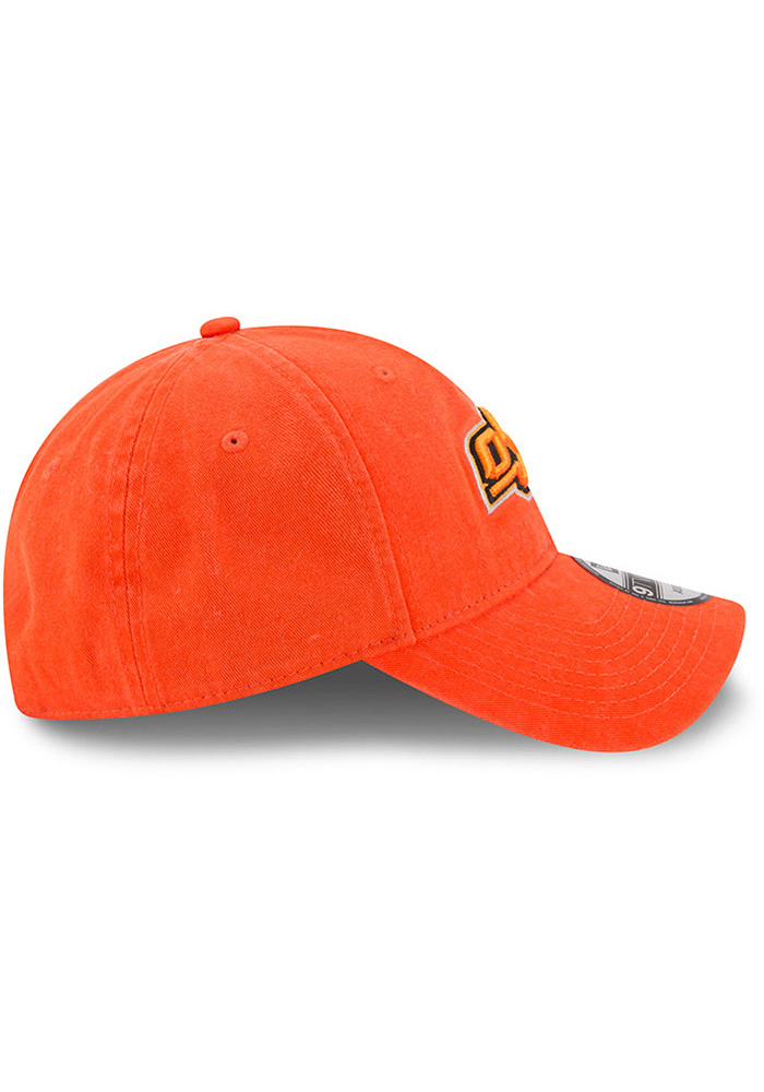 New Era Oklahoma State Cowboys Mens Orange Core Classic 9TWENTY Adjustable Hat - Image 6