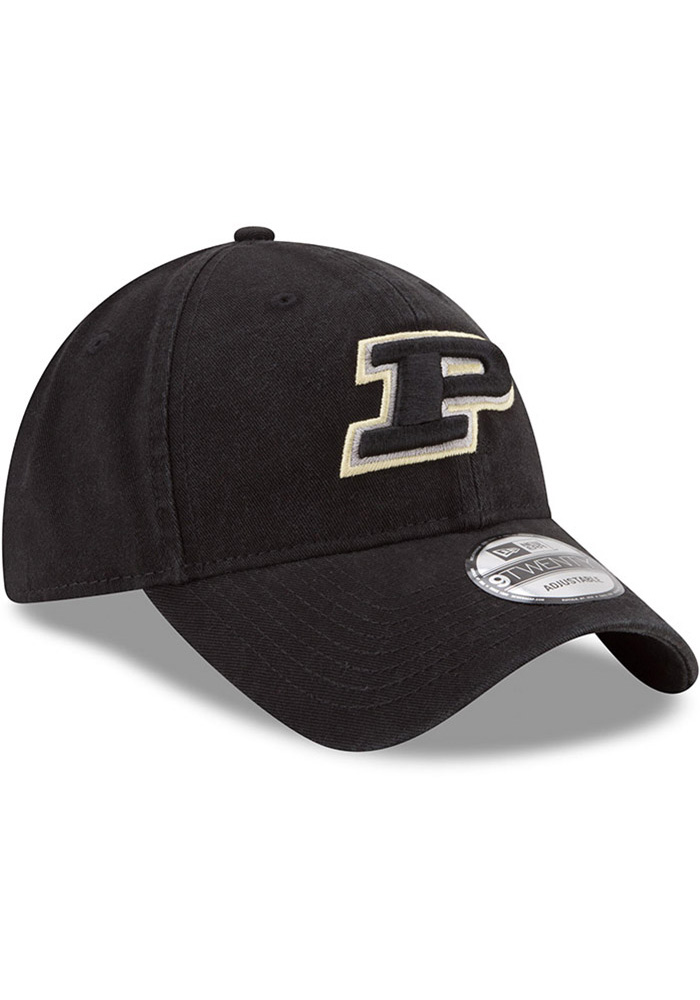 New Era Purdue Boilermakers Core Classic 9TWENTY Adjustable Hat - Black - Image 2