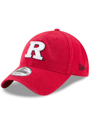 New Era Rutgers Scarlet Knights Mens Red Core Classic 9TWENTY Adjustable Hat