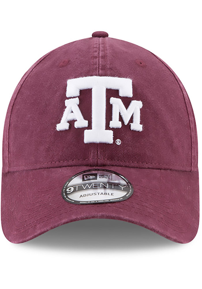 New Era Texas A&M Aggies Core Classic 9TWENTY Adjustable Hat - Maroon - Image 3