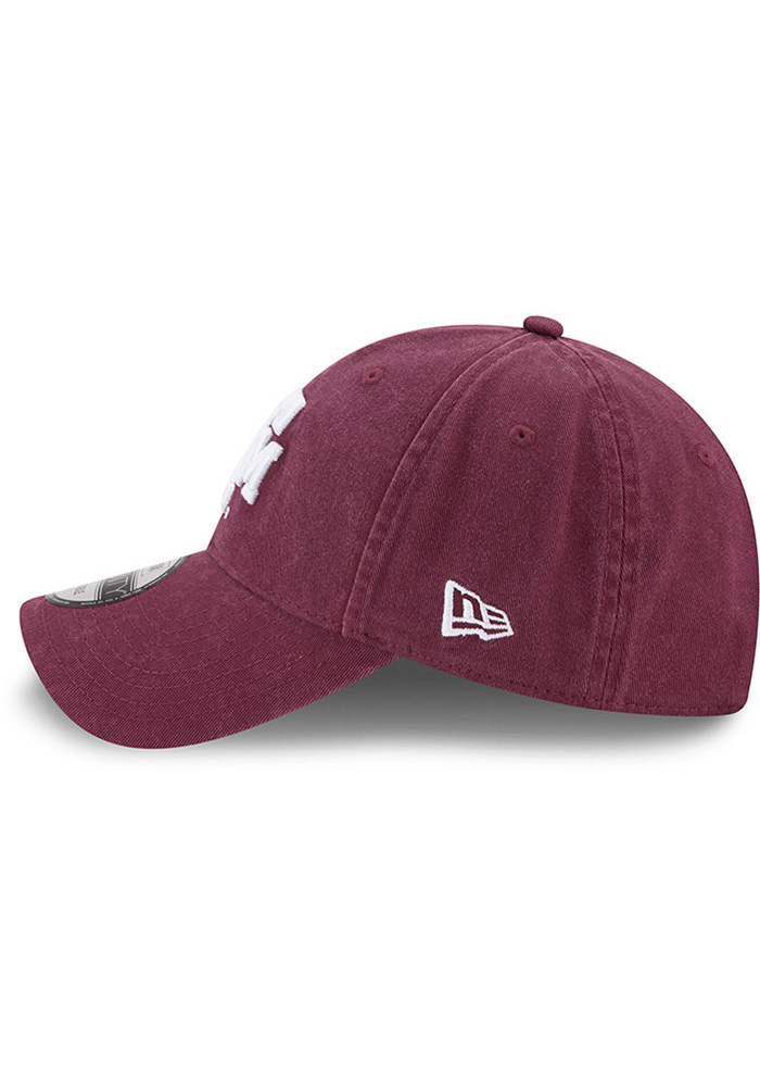 New Era Texas A&M Aggies Core Classic 9TWENTY Adjustable Hat - Maroon - Image 4