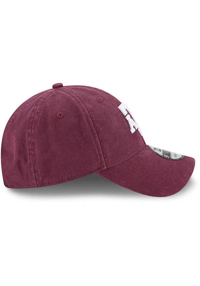 New Era Texas A&M Aggies Core Classic 9TWENTY Adjustable Hat - Maroon - Image 6