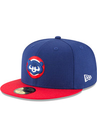 Chicago Cubs New Era Blue 1979 Cooperstown Wool 59FIFTY Fitted Hat