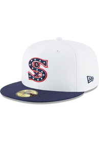 Chicago White Sox New Era 1917 Cooperstown Wool 59FIFTY Fitted Hat - White