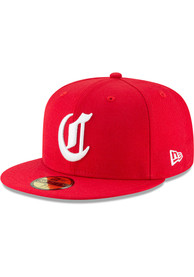Cincinnati Reds New Era Red 1869 Cooperstown Wool 59FIFTY Fitted Hat
