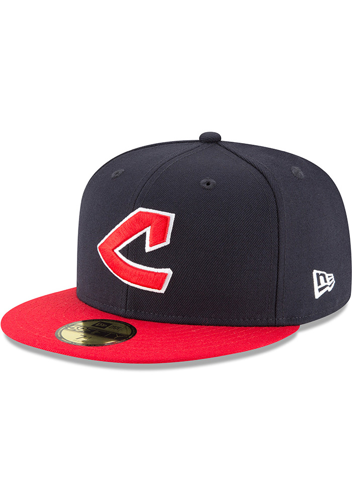 d964a71ec3d Cleveland Indians New Era Blue 1973 Cooperstown Wool 59FIFTY Fitted Hat