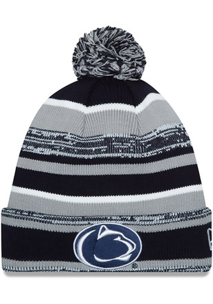 New Era Penn State Nittany Lions Navy Blue Sport Knit Hat