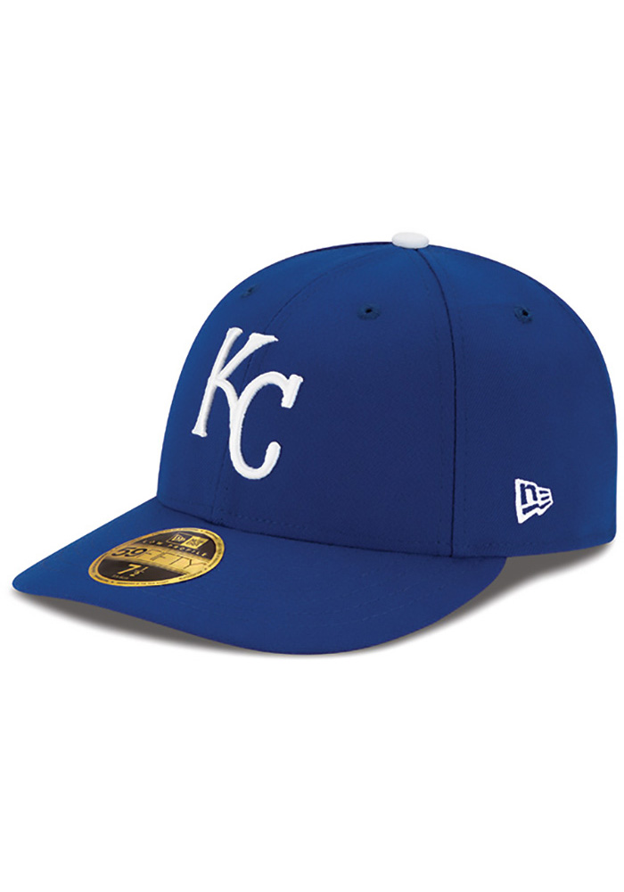 New Era Kansas City Royals Mens Blue 50th Anniversary Game AC LP59FIFTY Fitted Hat - Image 2