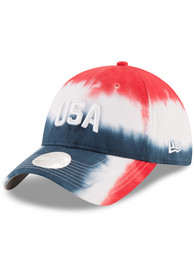 New Era USA Team Spirit 9TWENTY Womens Adjustable Hat