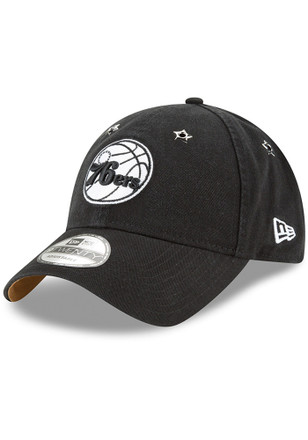 928a2547784 New Era Philadelphia 76ers White Team Front Flawless 9TWENTY Adjustable Hat