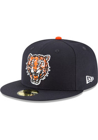 Detroit Tigers New Era 1957 Cooperstown Wool 59FIFTY Fitted Hat - Blue