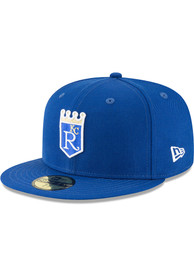 Kansas City Royals New Era 1971 Cooperstown Wool 59FIFTY Fitted Hat - Blue
