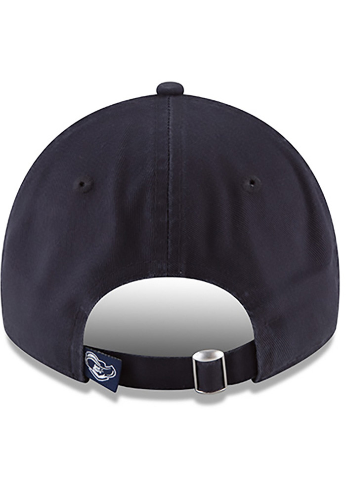 New Era Xavier Musketeers Mens Navy Blue Core Classic 9TWENTY Adjustable Hat - Image 4