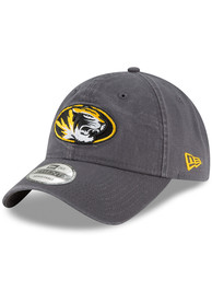 b16de6c03ed New Era Missouri Tigers Grey Core Classic 9TWENTY Adjustable Hat