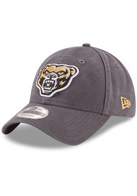 Oakland University Golden Grizzlies New Era Core Classic 9TWENTY Adjustable Hat - Grey