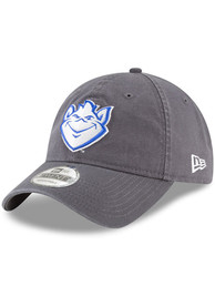 Saint Louis Billikens New Era Core Classic 9TWENTY Adjustable Hat - Grey
