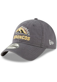 64bb0a6713f New Era Western Michigan Broncos Grey Core Classic 9TWENTY Adjustable Hat