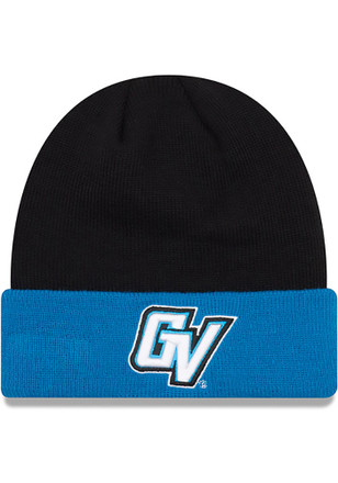 New Era Grand Valley State Lakers Mens Blue Cuff Knit Hat