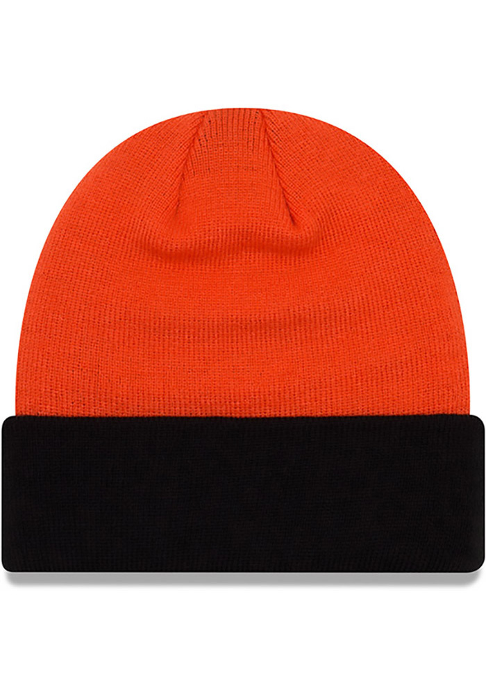 New Era Oklahoma State Cowboys Black Cuff Mens Knit Hat - Image 2