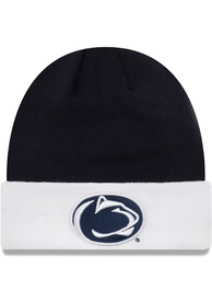 17e83932dd5 New Era Penn State Nittany Lions Navy Blue Cuff Knit Hat