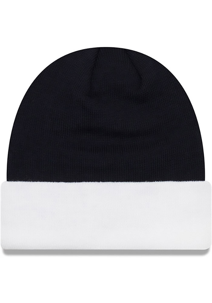New Era Penn State Nittany Lions Navy Blue Cuff Mens Knit Hat - Image 2