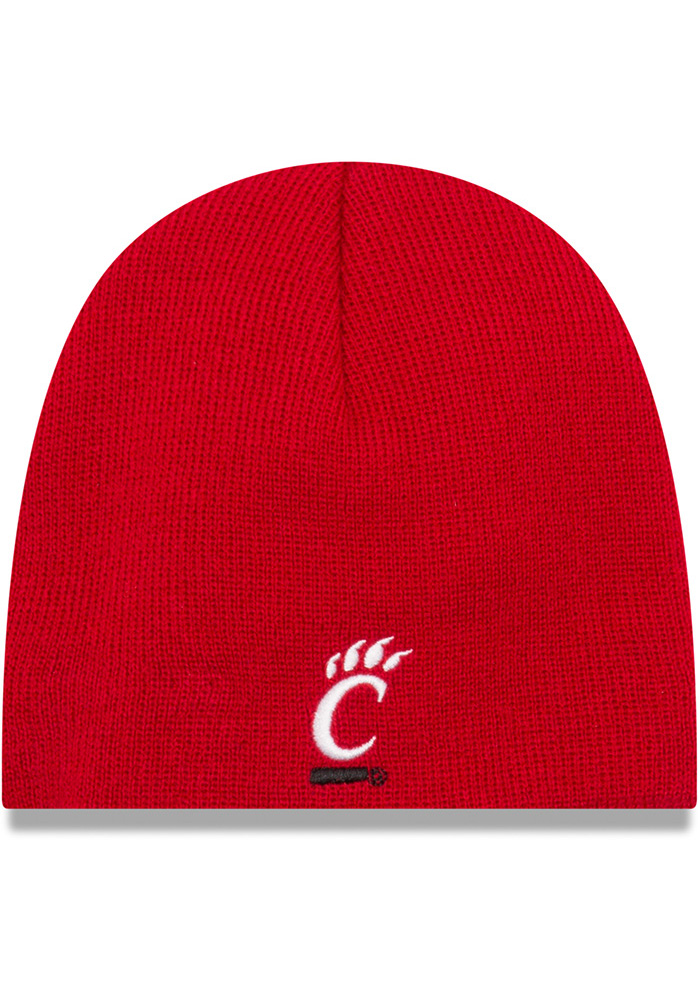 New Era Cincinnati Bearcats Red My 1st Baby Knit Hat - Image 1