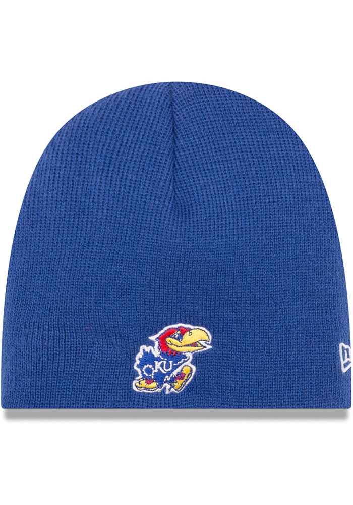 Kansas Jayhawks Baby New Era My 1st Knit Hat - Blue
