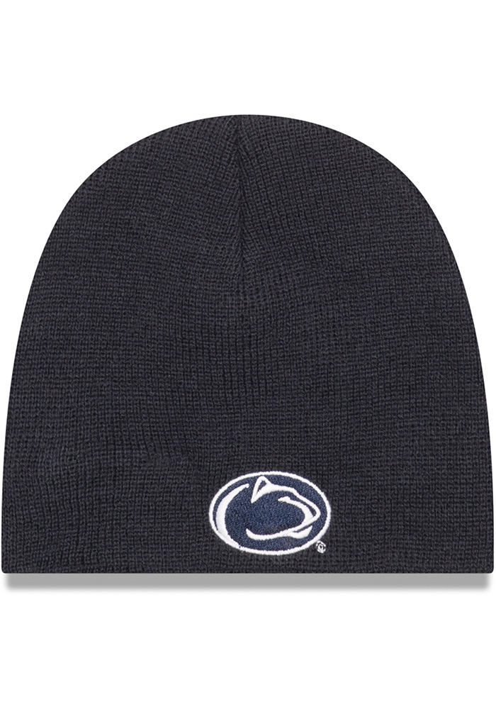New Era Penn State Nittany Lions My 1st Baby Knit Hat - Navy Blue - Image 1