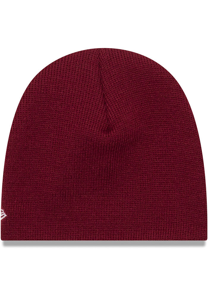 New Era Temple Owls My 1st Baby Knit Hat - Maroon - Image 2