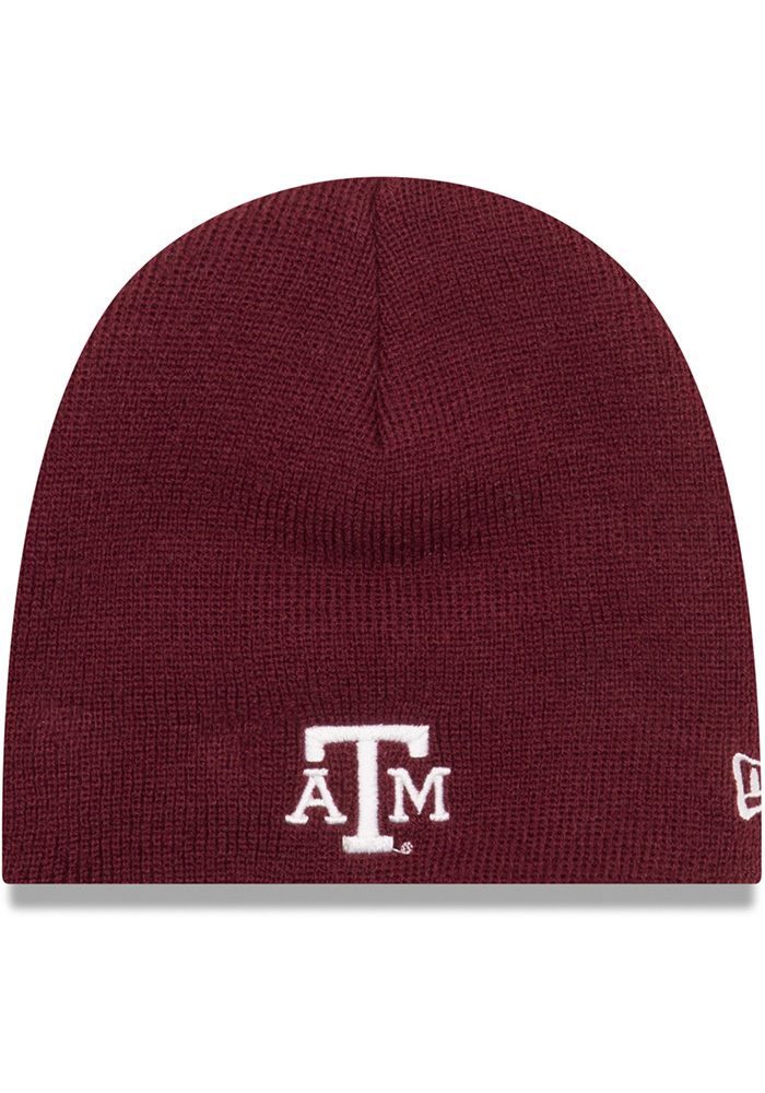 Texas A&M Aggies Baby New Era My 1st Knit Hat - Maroon