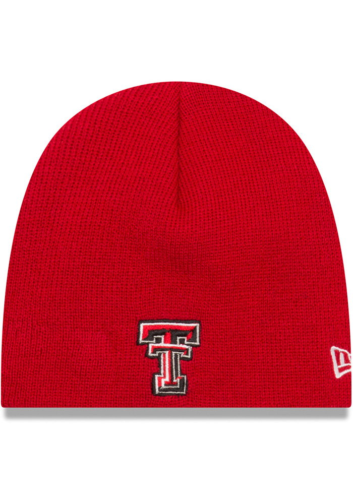official photos b4613 160d0 ... inexpensive new era texas tech red raiders black my 1st baby knit hat  3b6a7 f5409