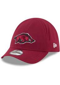 Arkansas Razorbacks Baby New Era My 1st 9TWENTY Adjustable Hat - Cardinal