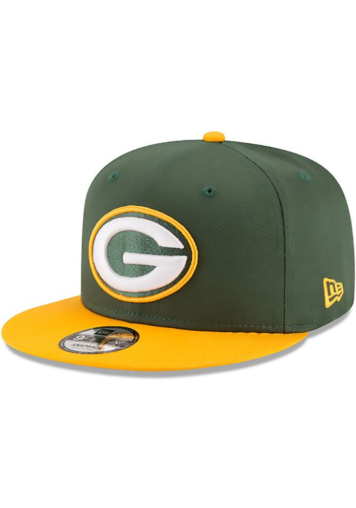 New Era Green Bay Packers Green Baycik 9FIFTY Snapback Hat 2ce687f5d