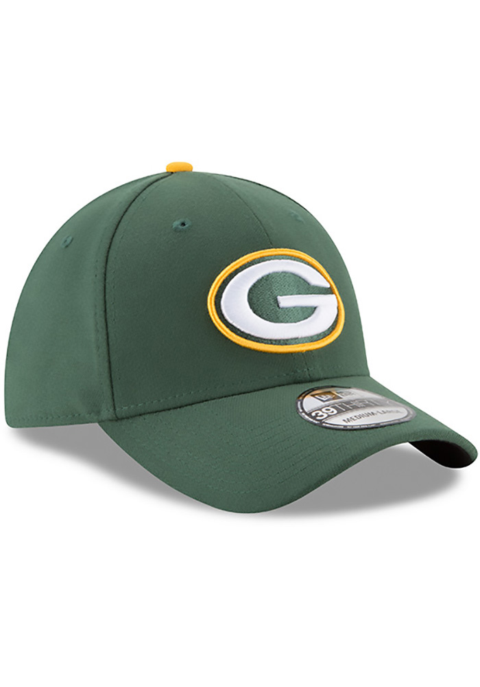 New Era Green Bay Packers Mens Green Team Classic 39THIRTY Flex Hat - Image 2
