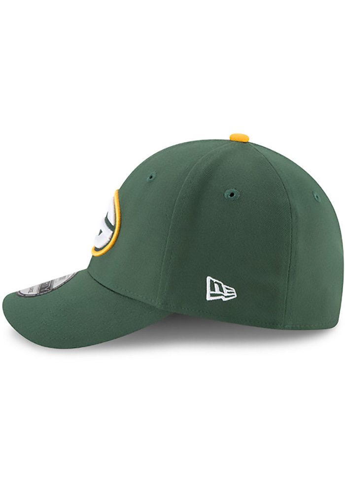 New Era Green Bay Packers Mens Green Team Classic 39THIRTY Flex Hat - Image 4