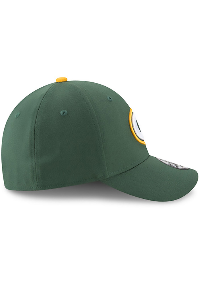 New Era Green Bay Packers Mens Green Team Classic 39THIRTY Flex Hat - Image 6