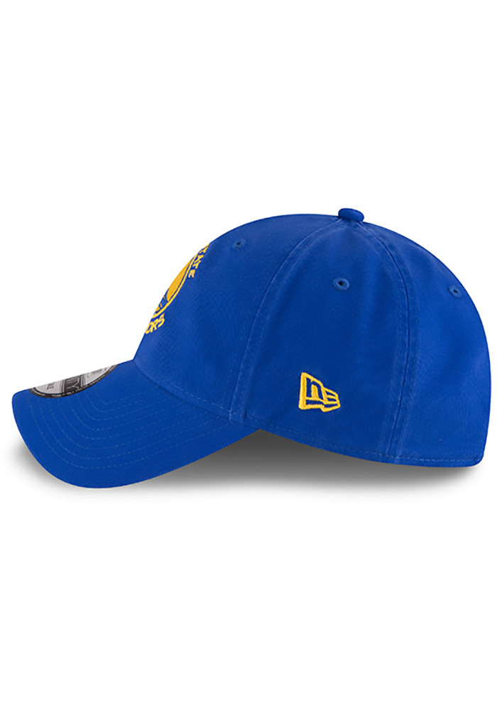 New Era Golden State Warriors Core Classic 9TWENTY Adjustable Hat - Blue - Image 2