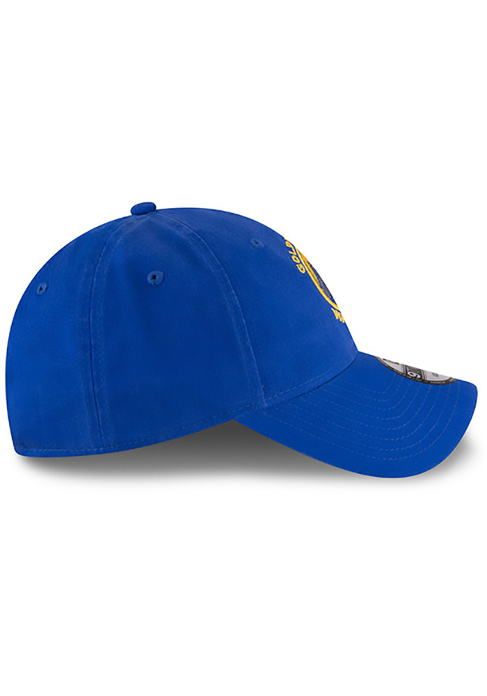 New Era Golden State Warriors Core Classic 9TWENTY Adjustable Hat - Blue - Image 4